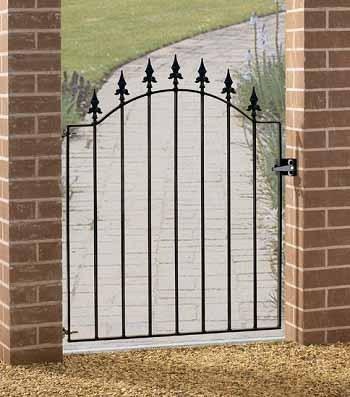 Warwick Metal Garden Gate