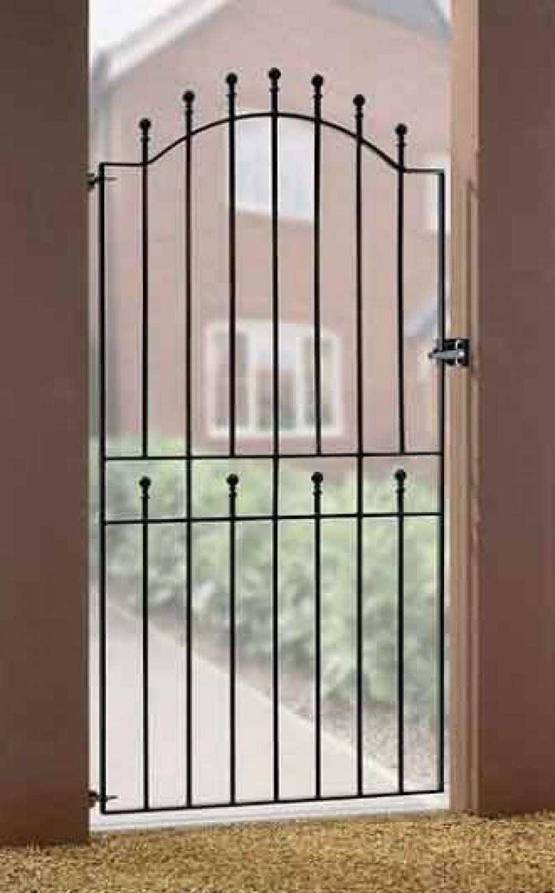 Weston Tall Metal Side Gate