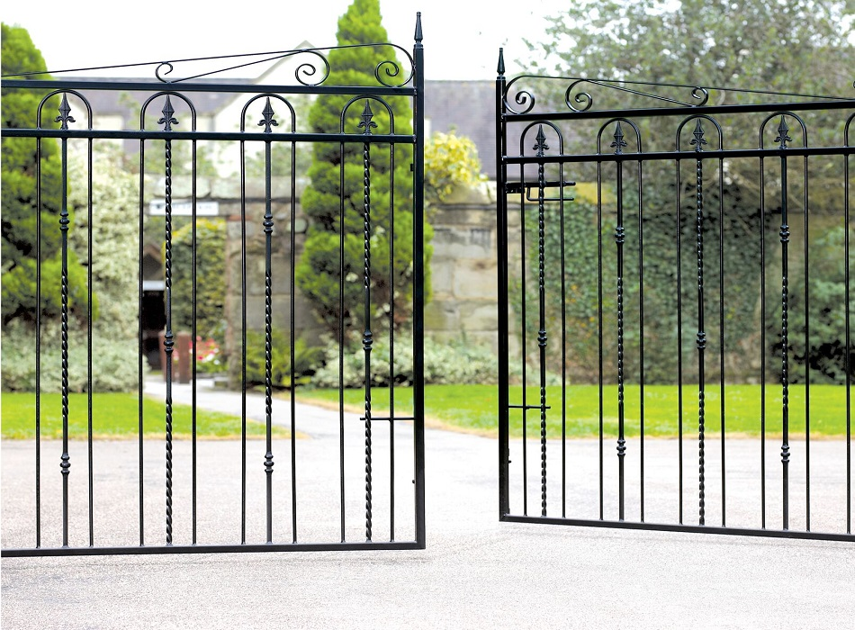 Windsor Wrought Iron Style Estate Gates