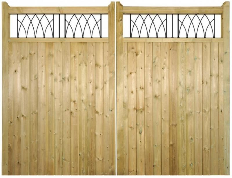 Windsor Wooden Estate Gates | 1.8m High