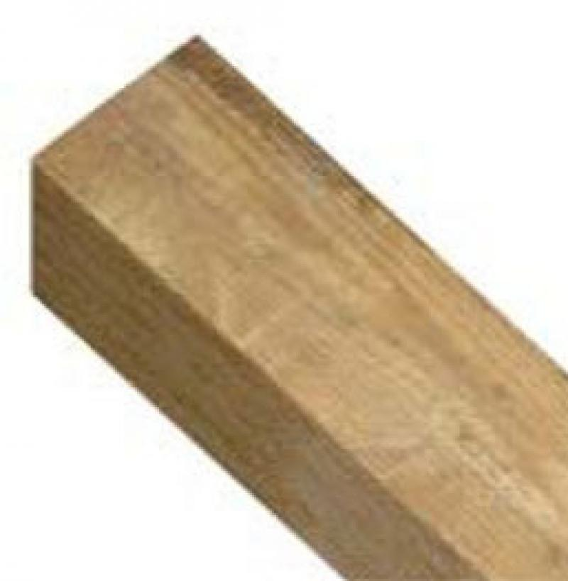 100mm x 100mm Square Top Timber Post - WP44S